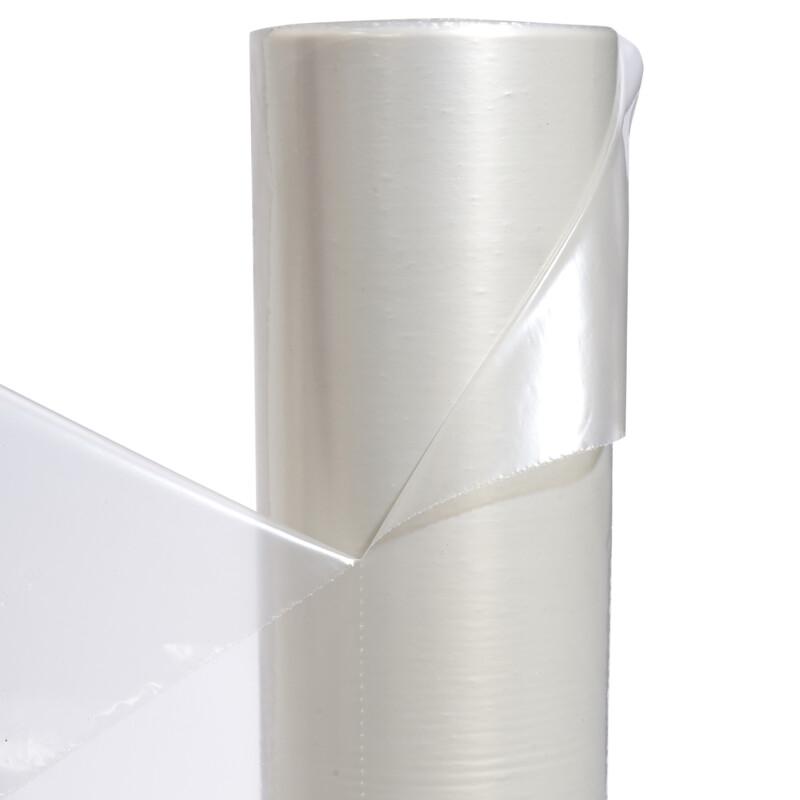 Tapis de sol prédécoupé polyéthylène transparent bobine