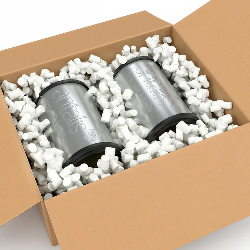 Particulaire de calage Flo pack  Access- Chips de calage- Protection des colis-Particulaire en polystyrene - Conditionnement- Antalis
