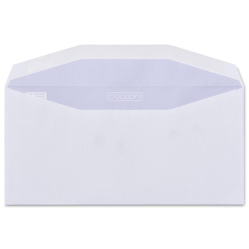 Enveloppes papier 100% recycle-162 x229 - C5- Cocoon Offset Enveloppes- Fenetre - sans fenetre - Blancheur elevee- Antalis
