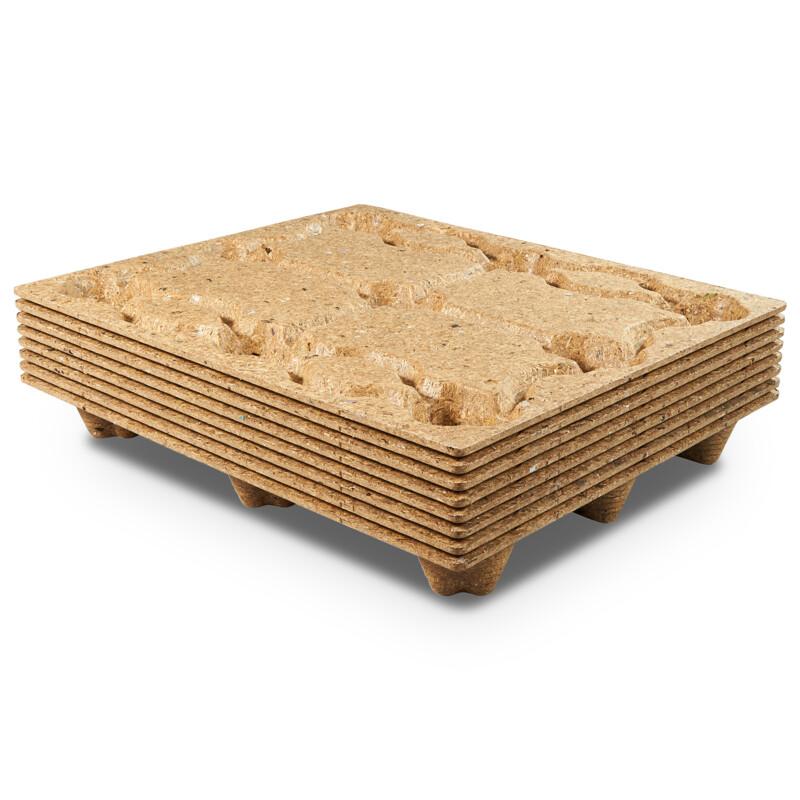Palettes moulees- Palette moulee - emboitable - Gain de place - 250 kg a 600Kg de charge utile- Antalis