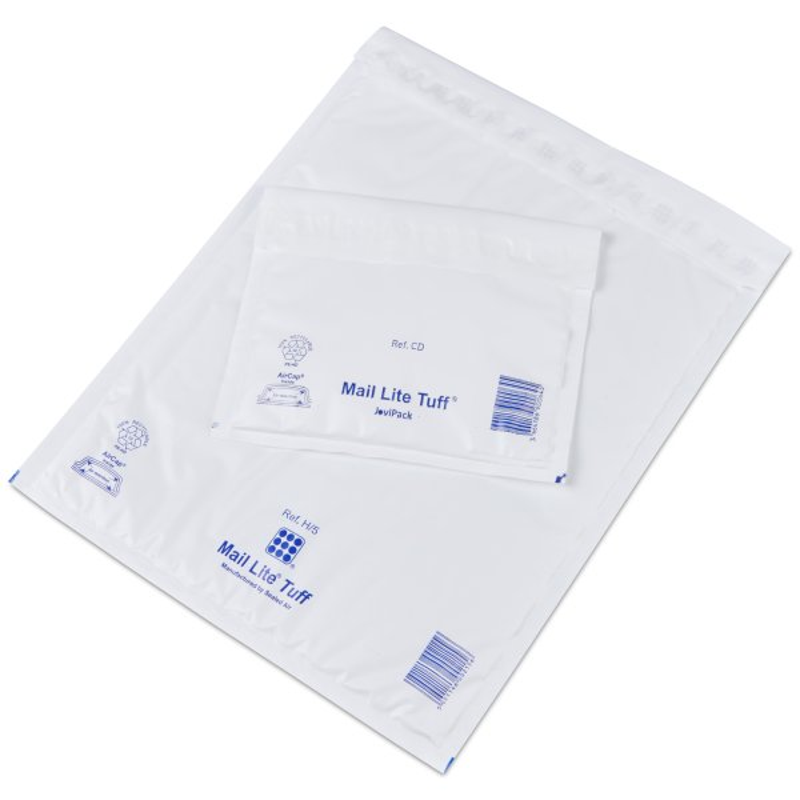 Pochette Matelassee Mail Tuff - 100% recyclable- pochette indechirable- pochette antichoc - Antalis