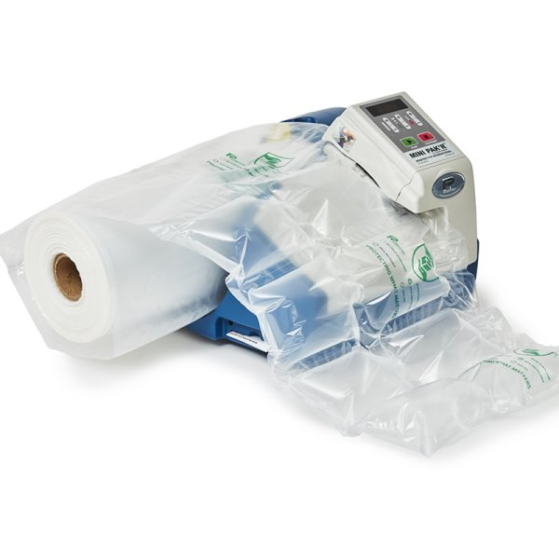 Machine MINIPAKR - Machine de production de coussins d'air pour l'emballage- Calage de marchandise - protection- remplissage- antichoc- expedition - Antalis