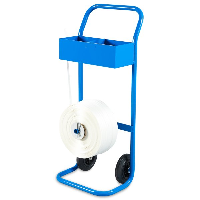 Machines à cercler manuelles - chariot devidoir mobile avec bobine feuillard - Antalis