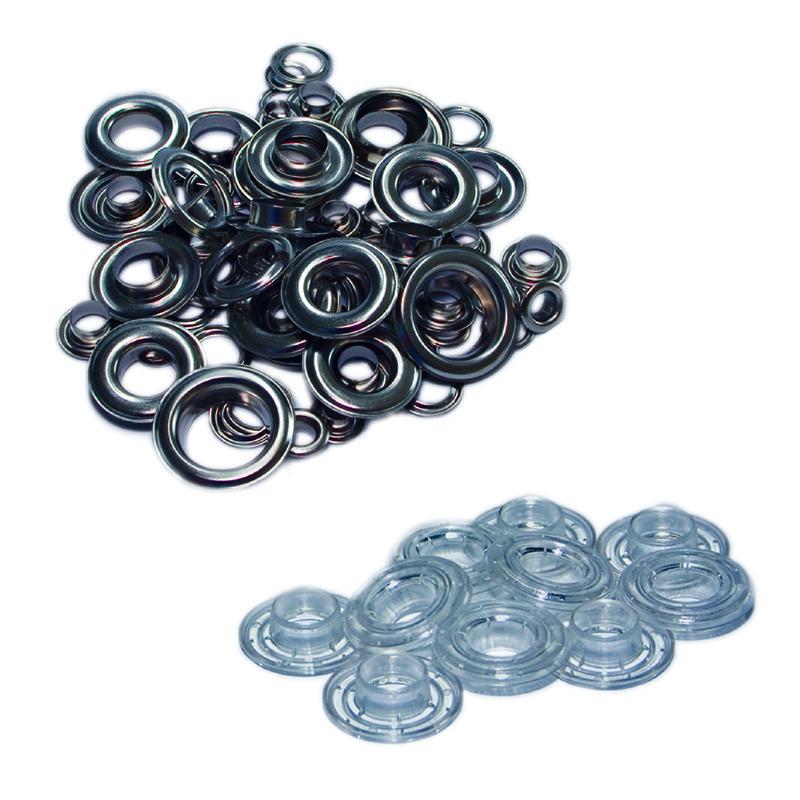 Oeillets metal- Acier Inoxydable - Œillets metalliques pour bache - Antalis