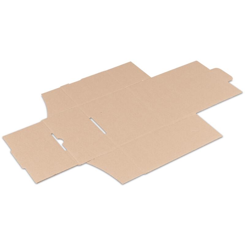 Boîte carton Blanche- Kraft blanc - Emballage de petites pieces - livre à plat - Boite carton avec rabat-  Antalis