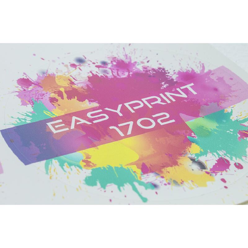 Film imprimable blanc mat en PVC pour transfert a chaud - Chemica EasyPrint - Antalis