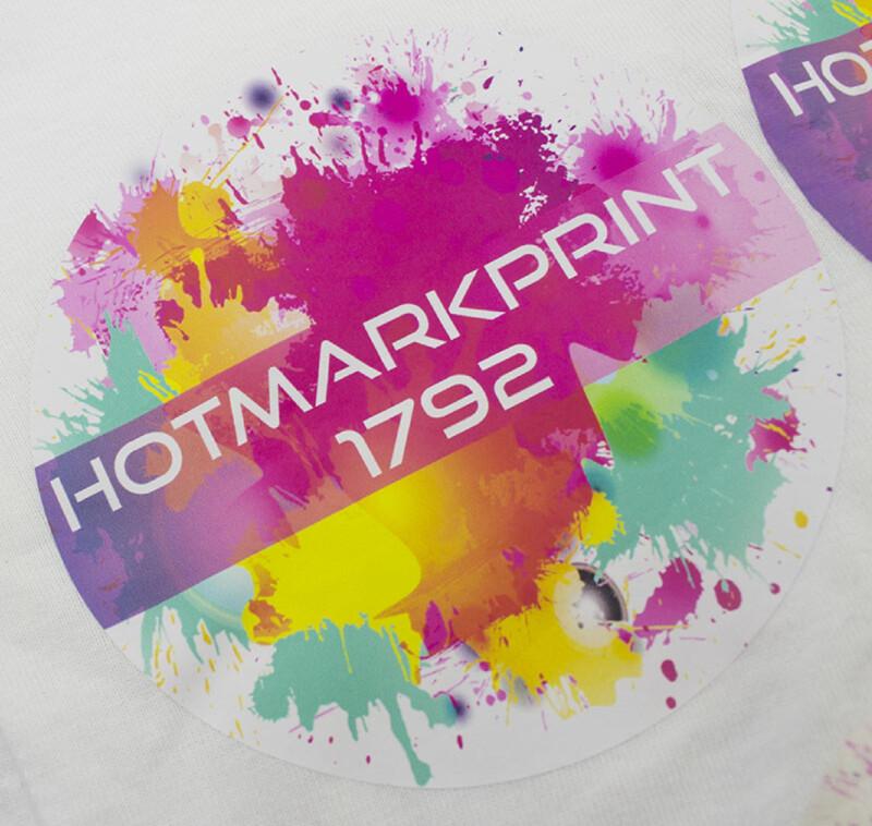 Film imprimable blanc mat en polyurethane pour transfert a chaud - CHEMICA Hotmarkprint - Antalis