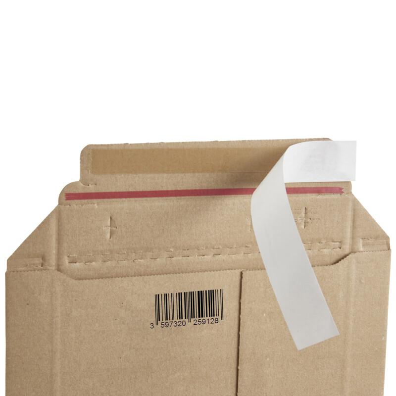 Pochette en carton ondule ;Master'in Performance ; Pochette d'expedition ; 100% recyclable ; Portection des envoius ;Antalis