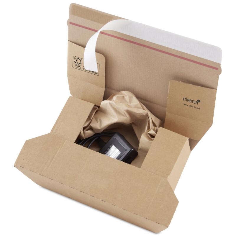 Boîte postale; Boite carton d'expedition; boite en divers formats ; Master'In Expert; Antalis