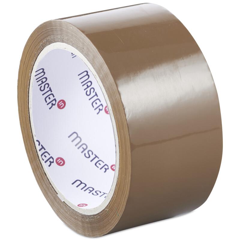 Ruban adhesif Master'In Access; Ruban Adhesif Brun; Polypropylene; Scotch Havane ; Sans bruit ; Adhesif professionnel; Antalis