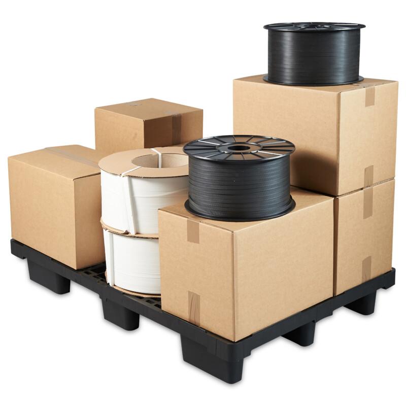 Palette Plastique - Palette en polyetylene - 1500 kg charge statique - 800 Kg charge dynamique- Palette legere- Nettoyage facile -differentes tailles disponibles- Antalis