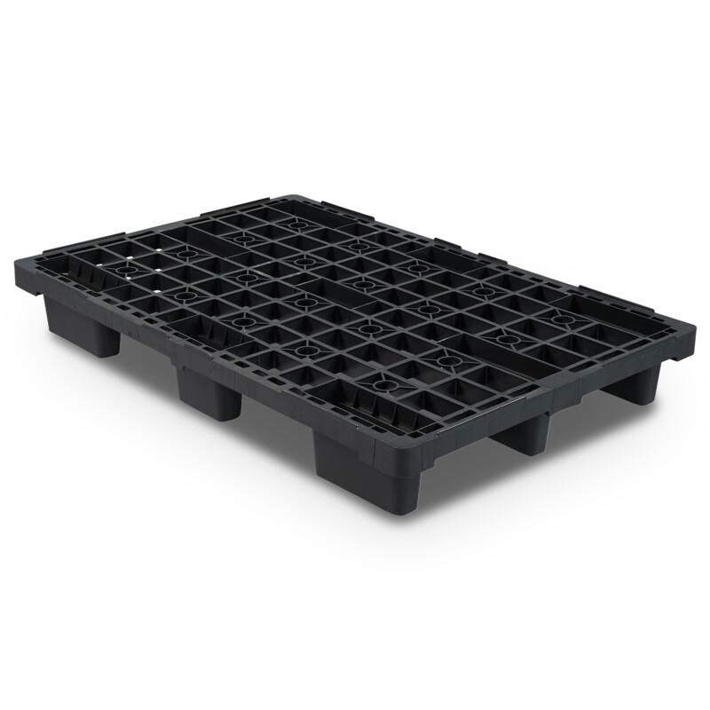 Palette plastique noir application