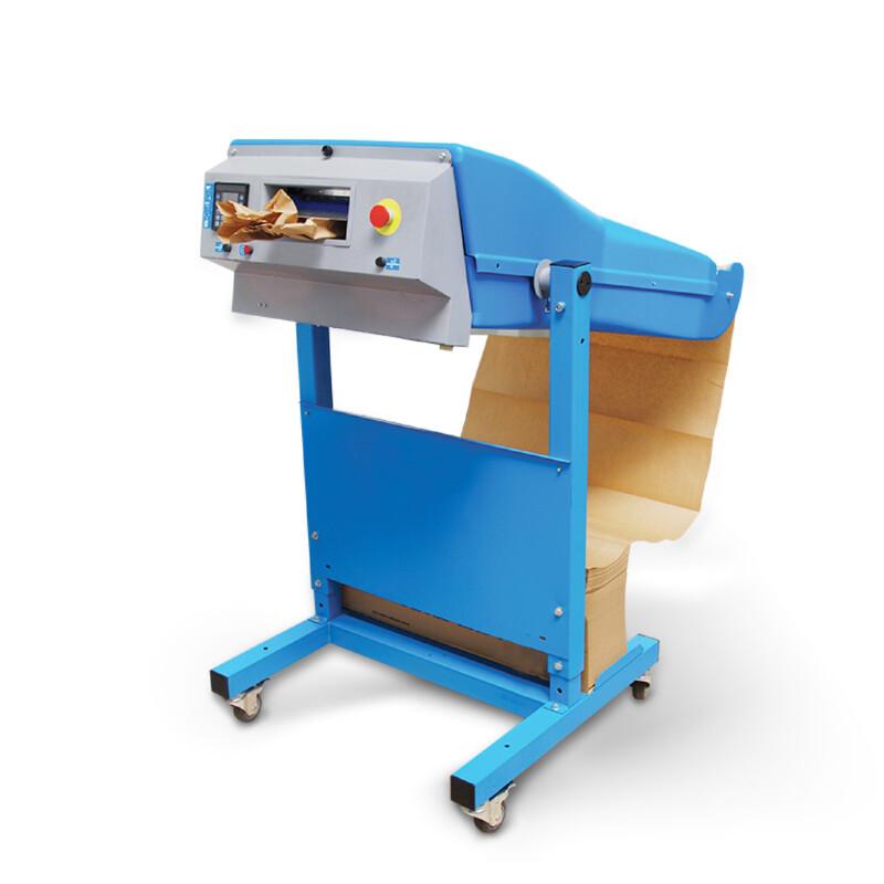 Machine PadPak LC - Machine de calage- Papier froisse- calage - remplissage - Protection- expedition- Antalis