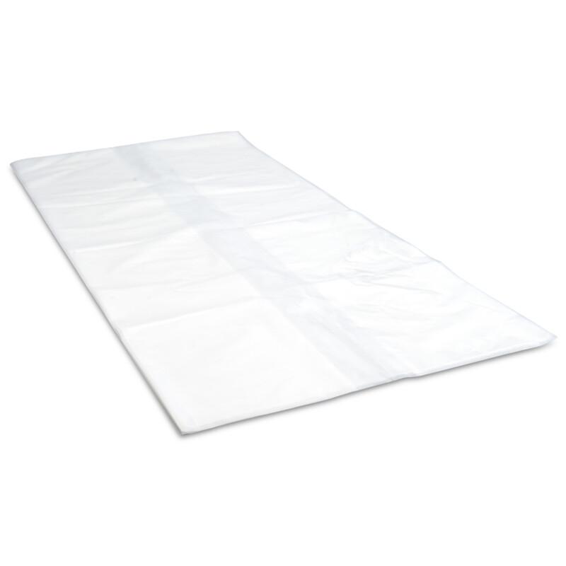 Housse de protection bi oriente retractable PE-BD transparent- Housse Polyethylene- Antalis