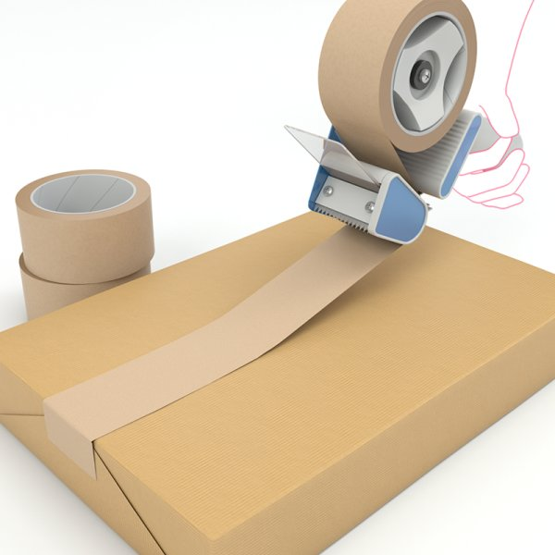 ruban de Kraft Adhesif - Bande adhesive ecologique- adhesif recyclable- Antalis