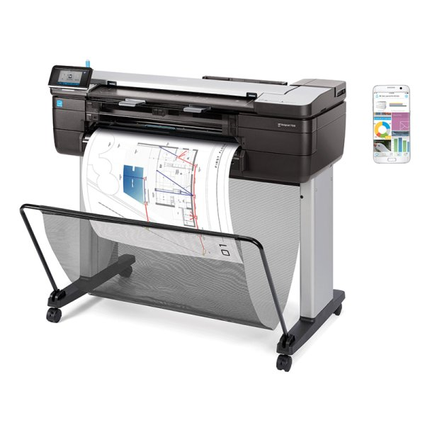 Photo HP Designjet T830 laize 61 cm