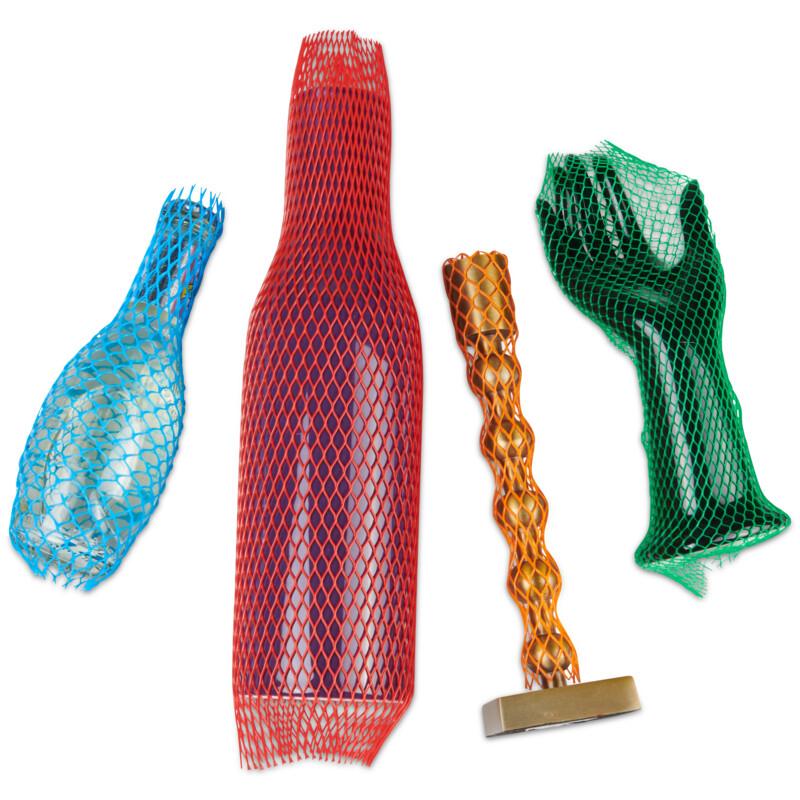 Filet tubulaire Gaine de protection - bobine de gaine filet extensible PE-Anti frottement- divers coloris- reutilisable- emballage-Antalis