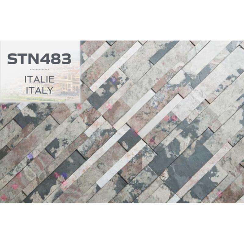 Photo produit Pierres Italie naturelles adhésives (STN483)