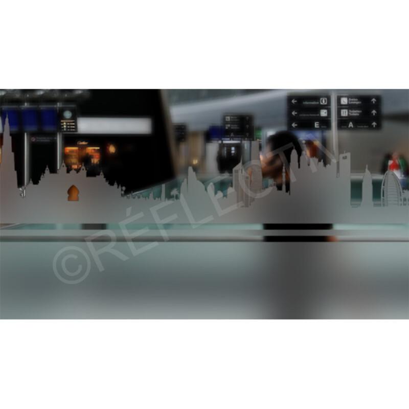 Photo produit Frise dépolie Dubai (TWY600)