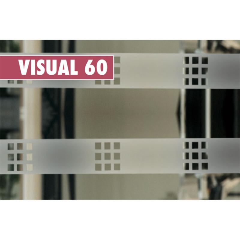 Photo produit Carrés transparents (VISUAL60)