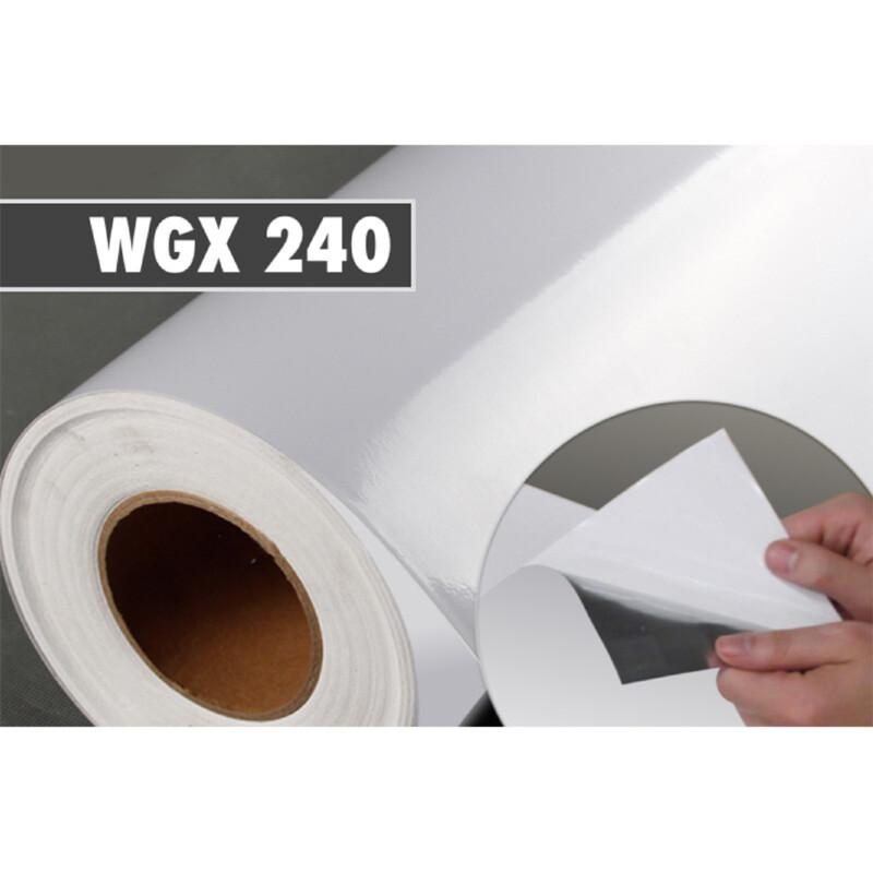 Photo produit Tissu repositionnable PET Brillant imprimable (WGX240)
