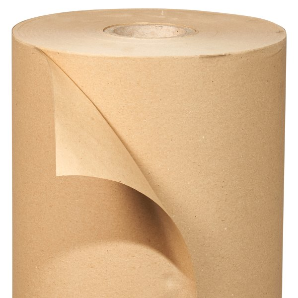 Papier Macule- Papier recycle- gris- bobine ouverte-Papier d'Emballage- Expedition - Packaging-Protection- Antalis
