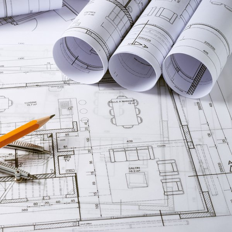 Coala CAD Non Couche- papier blanc - plans d'architecte- Plan de copropriete - Impression jet d'encre acqueux - Certifie FSC- Antalis