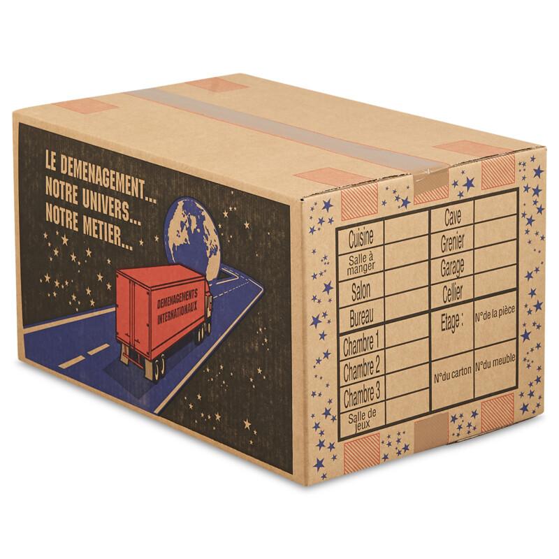 Carton de demenagement - Caisse carton- Special demenagement- Antalis