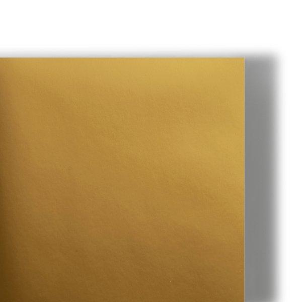 Etiquette Chromolux Metallic Gold - Or- Couche sur chrome 1 face-finition metallisee-7 teintes- Surface ultra lisse- Chemise-coffret-couverture-encart-etui-faire part-  invitation- Antalis
