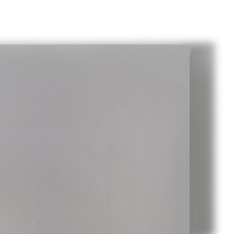Feuille de Chromolux Metallic Steel Blue - Bleu acier- Couche sur chrome 1 face-finition metallisee-7 teintes- Surface ultra lisse- Chemise-coffret-couverture-encart-etui-faire part-  invitation- Antalis