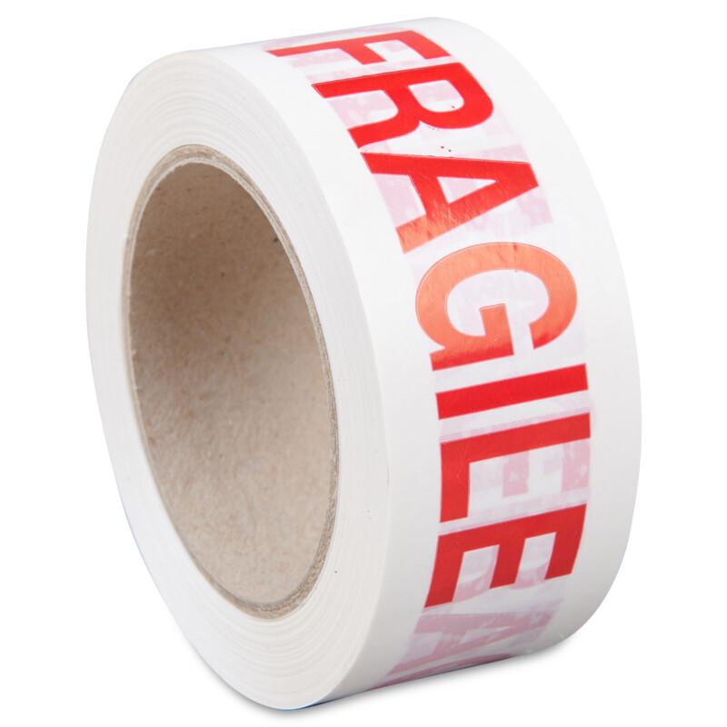 Adhesif - imprime produit fragile - rouleau d'adhesif -Adhesif marque Fragile -  Antalis