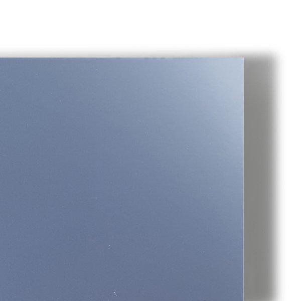 Chromolux Metallic Silver - Argent- Couche sur chrome 1 face-finition metallisee-7 teintes- Surface ultra lisse- Chemise-coffret-couverture-encart-etui-faire part-  invitation- Antalis