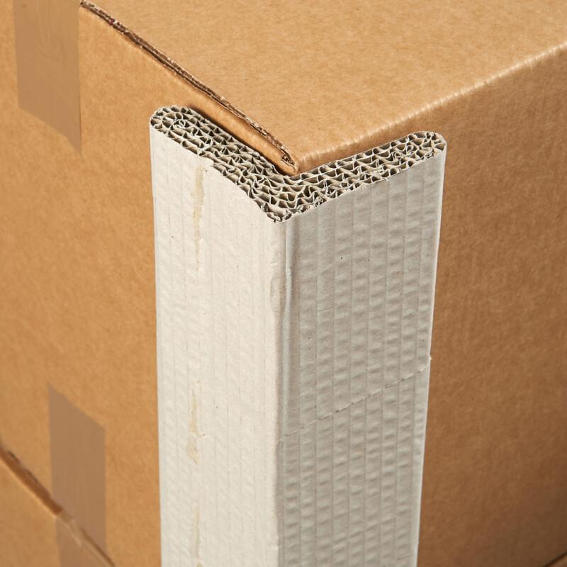 Corniere Carton Compact - Protection des angles- Protection des arretes - Evite les incisions de feuillard- 100% recyle- 100% recyclable- Largeur et hauteur variables - Antalis