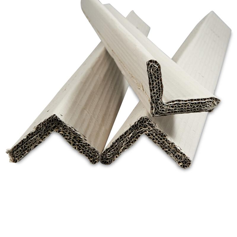 Corniere Carton Compact - Protection des angles- Solidarise les palettes de cartons- Evite les incisions de feuillard- 100% recyle- 100% recyclable- Largeur et hauteur variables - Antalis