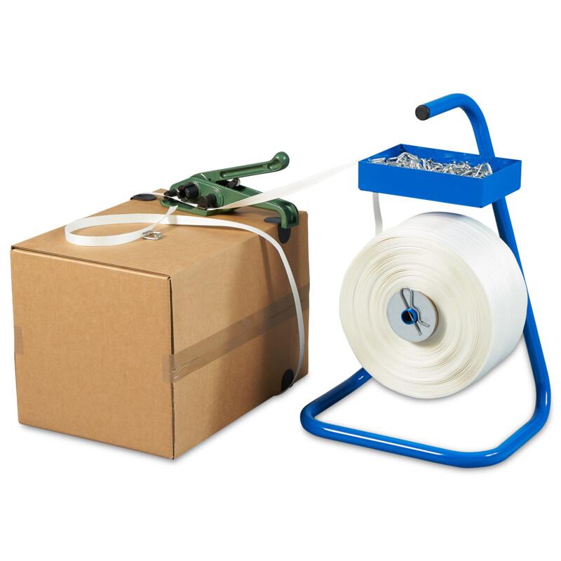 Kit de cerclage blanc sans bobine