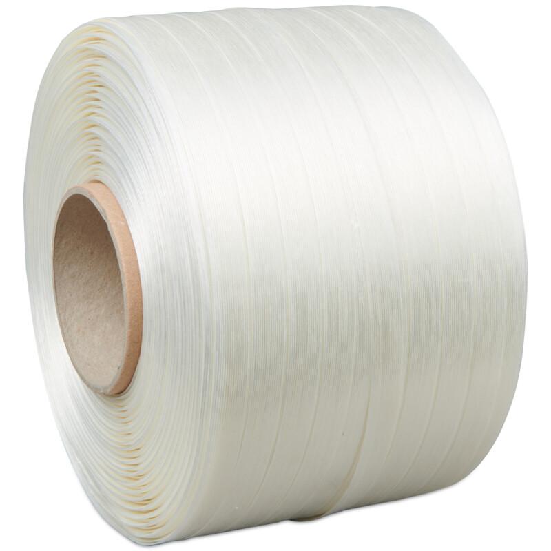 Feuillard Textile pour presse à balle- Feuillard textile blanc - Presse à balle - feuillard - Antalis