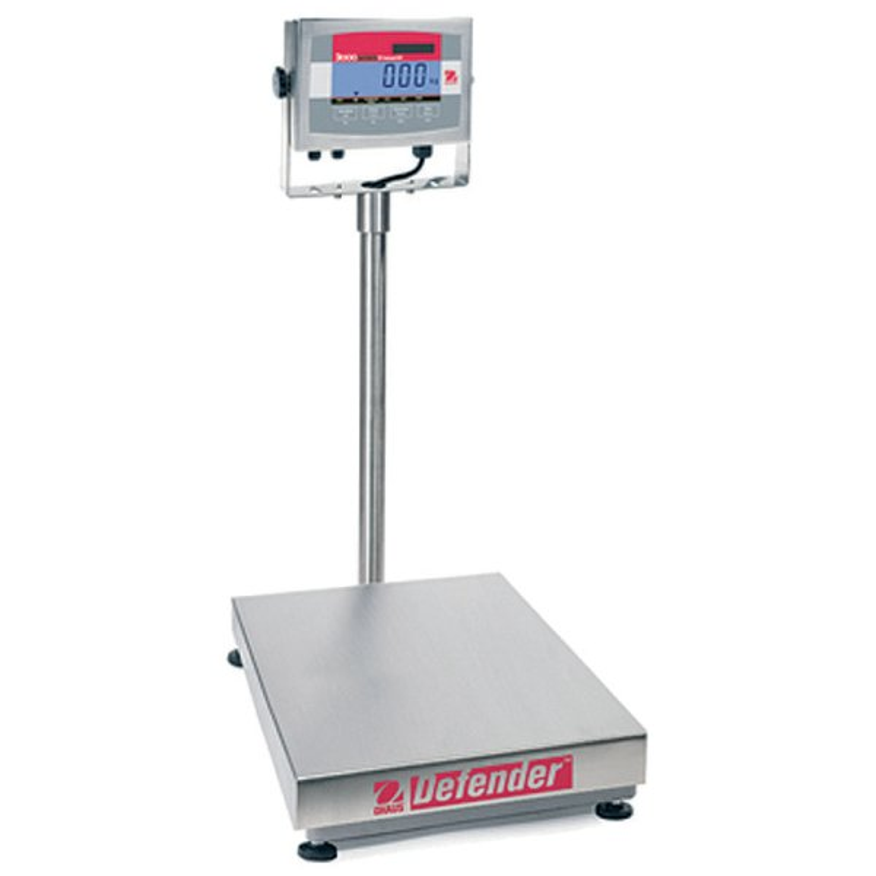 Balance Defender 3000 - Ohaus - pesage industriel - Balance avec ecran LCD - Pesage  de 30 à 300 kg - Antalis