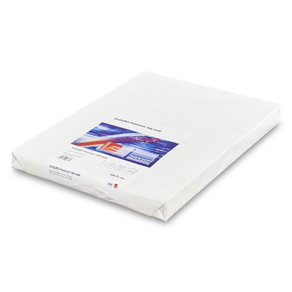 Auto-adhesif - Papier-film PETP-Papier- Enduro Premium 155T- Papier indechirable- Impression toner sec- Garantie HP Indigo- Valide par Kodak Nexpress- Impression numerique - Antalis