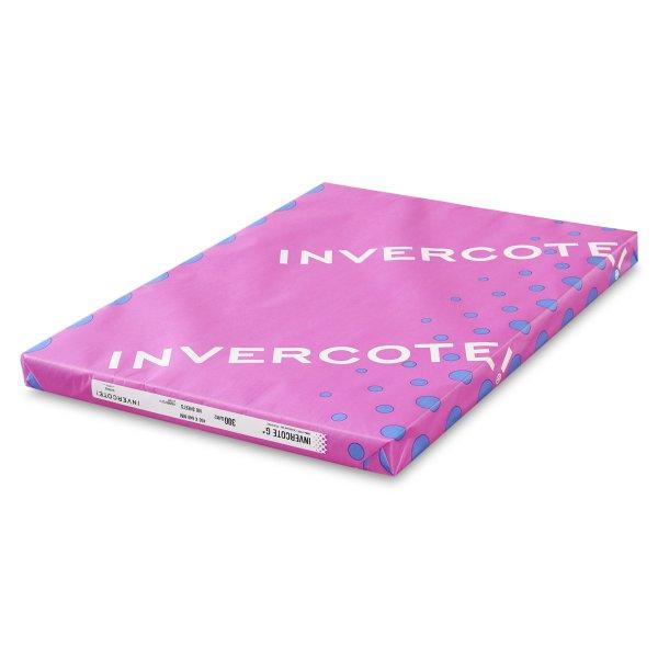 Paquet de carton graphique - Invercote G- Carte graphique GZ- Carton pure cellulose- Carton blanc- Offset- Serigraphie- façonnage - Antalis