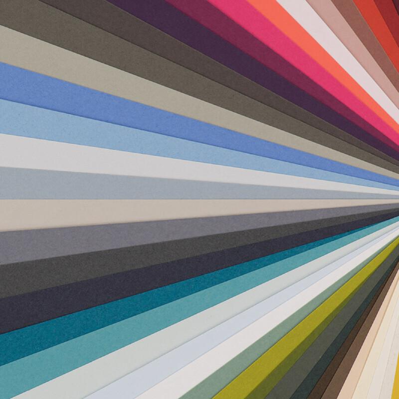 Keaykolour - papiers de creation - Support de communication - 48 couleurs - Enveloppes assorties -Papier velin - mailings- couvertures- dossiers de presse- cartes et cartons d'invitation - Antalis