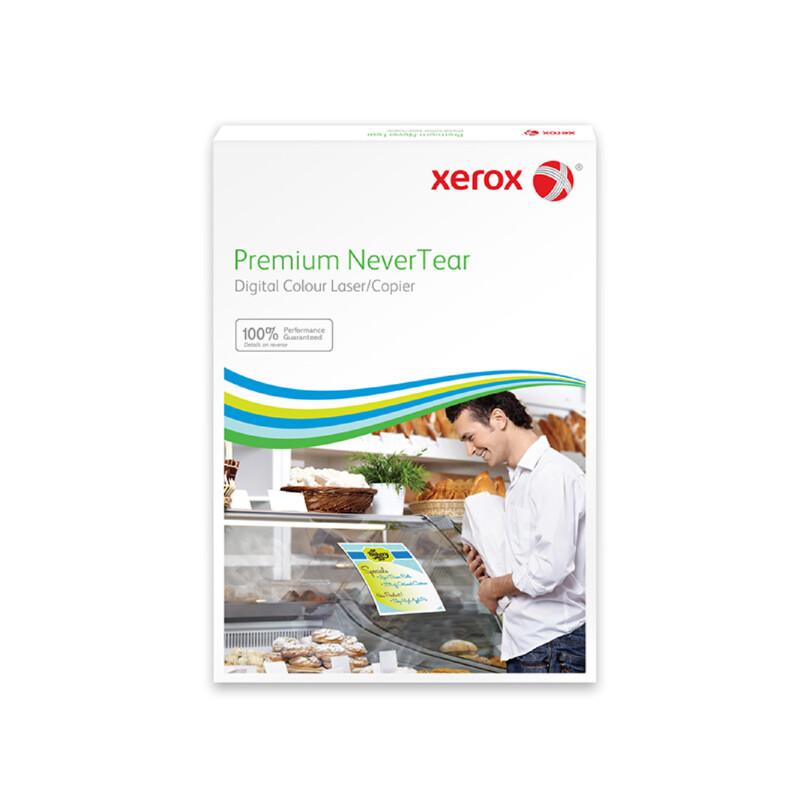 Xerox Premium NeverTear Gloss White Adhesive Film - Film adhésif indéchirable - impression laser couleur et Monochrome