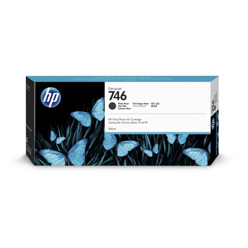 HP 746 Noir Mat Ink 300ml
