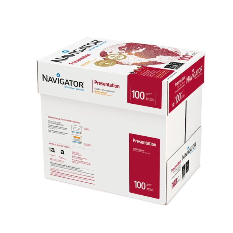 Carton ramette Navigator  Presentation