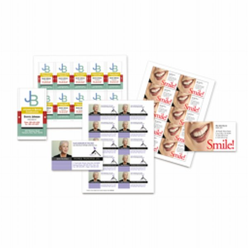 Xerox Laser Business Cards- Carte de visite à personnaliser - Impression laser couleur et monochrome- 003R97512-Antalis