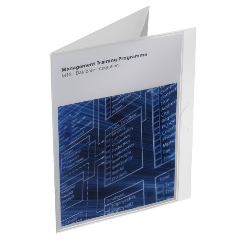 Chemise 3 rabats A4-Personnalisable- Xerox- Xerox Create -Impression Laser couleur et Noir et blanc- Polypropylene - 100% recyclable -