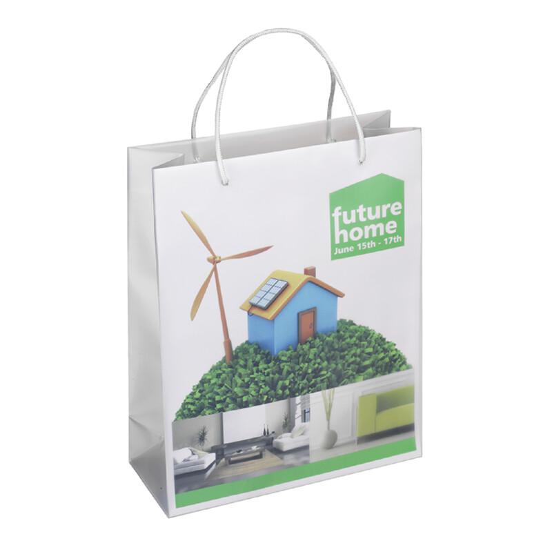 Sacs boutiques personnalisables- Xerox Create- polypropylene et papier- Produits 100% recyclables- Impression a la demande- feuille preformatee - Antalis