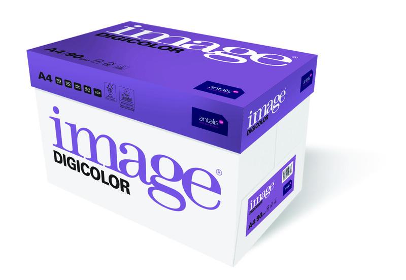 Image- Digicolor- blanc- Papier copieur sans bois-ECF- A4- 90g - carton de côte- Antalis