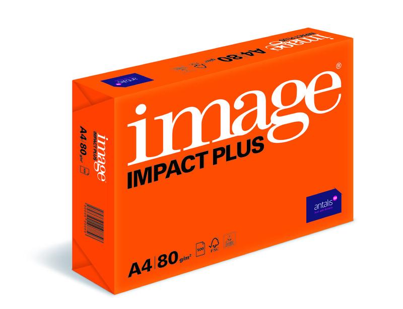 Papier copieur Image Impact Plus - Ramette vue de droite - Antalis