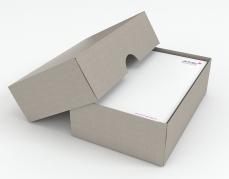 Caisse et palette - Boîte Blanche et Kraft