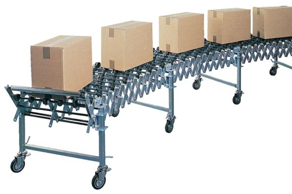 Machine et équipement d'emballage  - Convoyeur Extensible A Roulettes Plastiques GTL / GTM / GTR